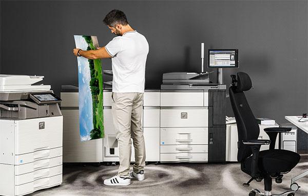 Kopieren und Drucken in A3 Format