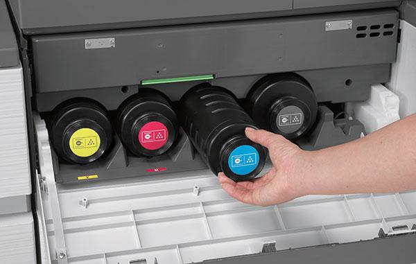 Toner für Kopierer oder Drucker