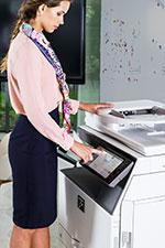 Drucker und Kopierer mieten
